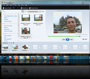 Vista Movie Maker in Windows 7